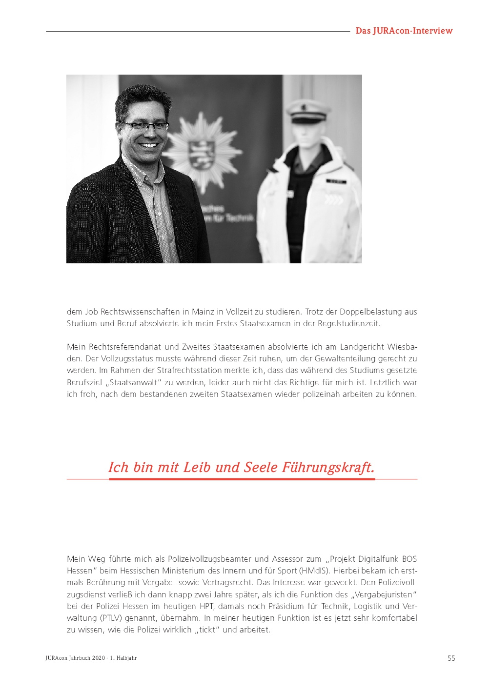JURAcon Jahrbuch 2020 - Interview Marco Führer - Seite 55