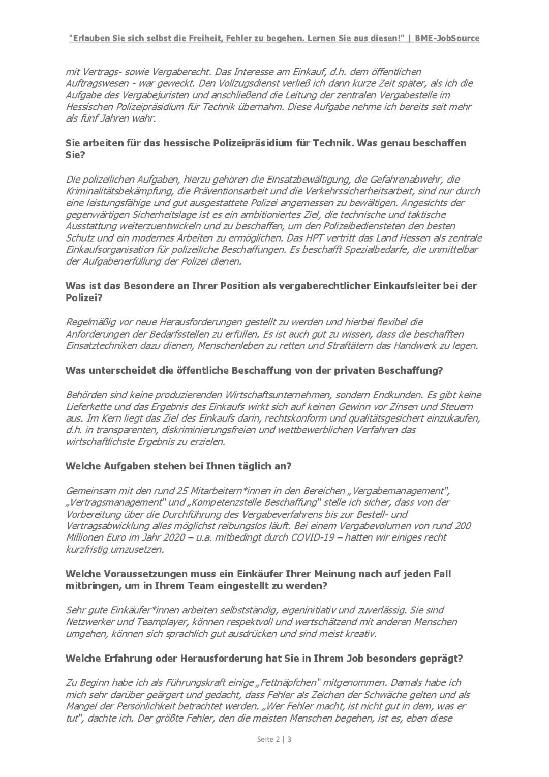 BME-JobSource - Interview Marco Führer, HPT - Seite 2